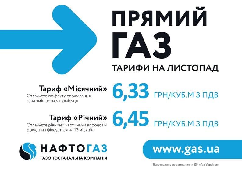 """""""Нафтогаз"""" підвищив ціну на газ для населення ще на 35%"""