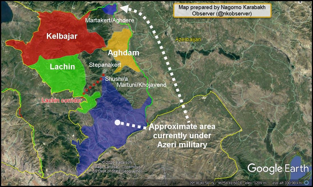 З'явився текст документа про припинення війни в Карабасі