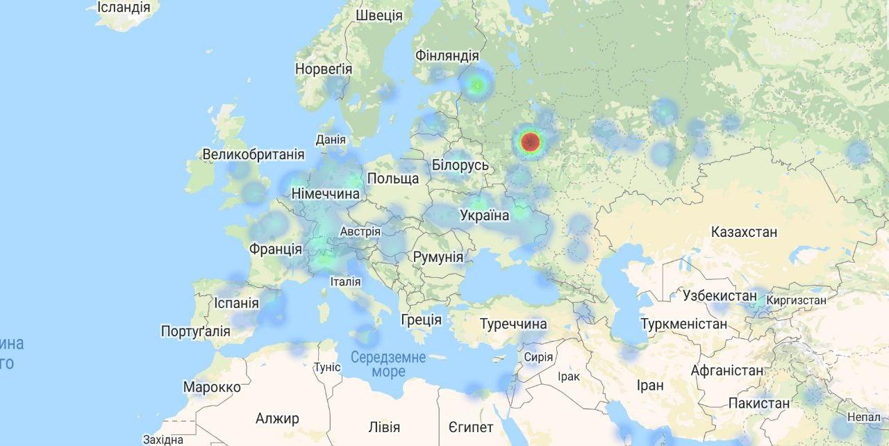 В Telegram и WhatsApp произошел масштабный сбой в Европе