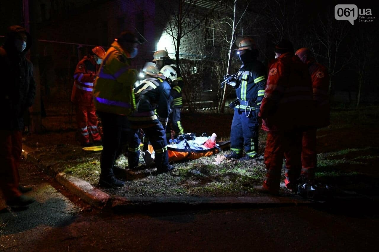 В инфекционной больнице Запорожья произошел пожар, есть жертвы