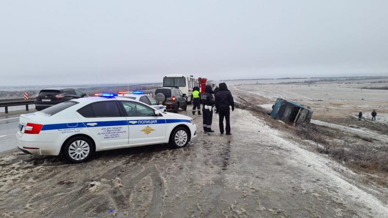 В России перевернулся автобус с украинцами, есть погибшие